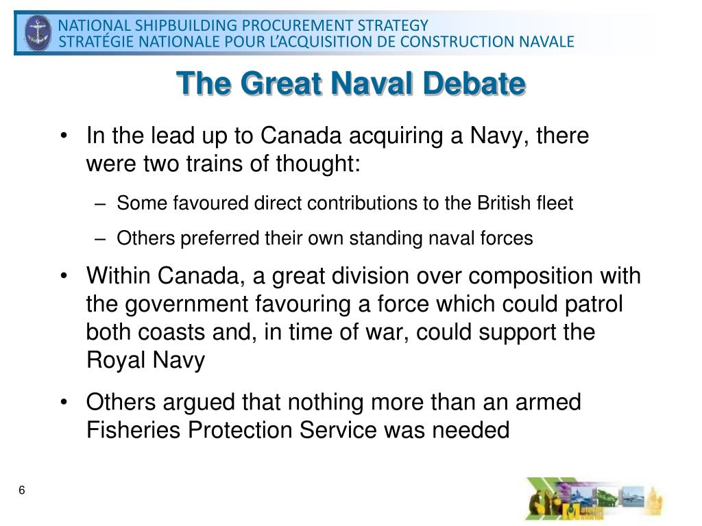 The Great Naval Debate