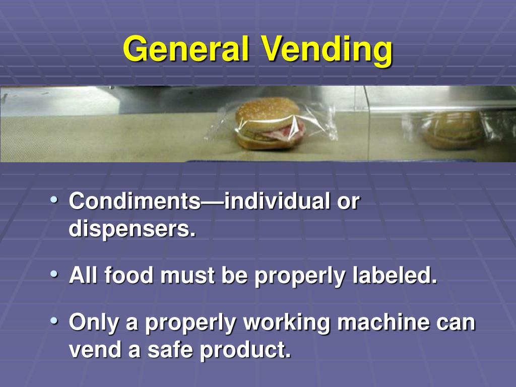 General Vending
