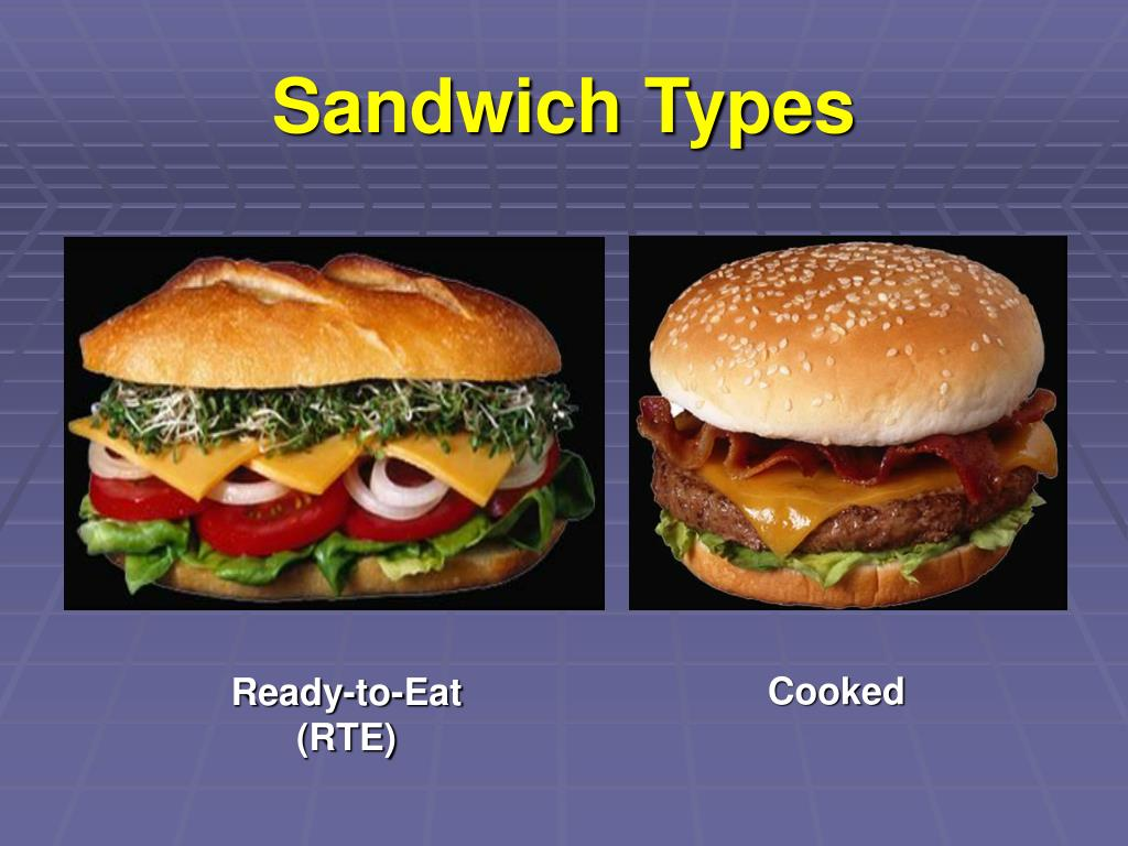 Sandwich Types