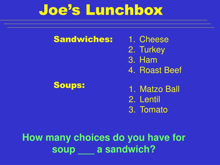 Joe's Lunchbox