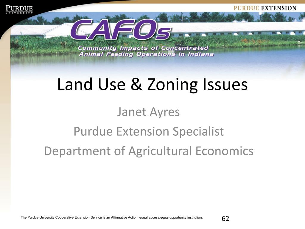Land Use & Zoning Issues