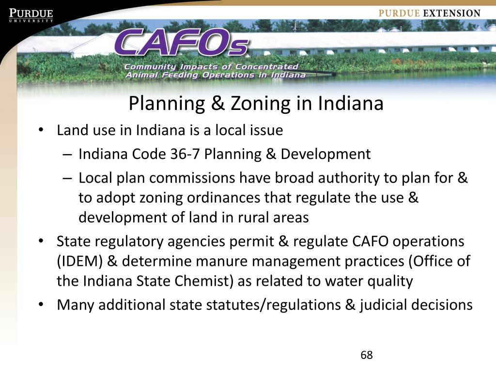 Planning & Zoning in Indiana