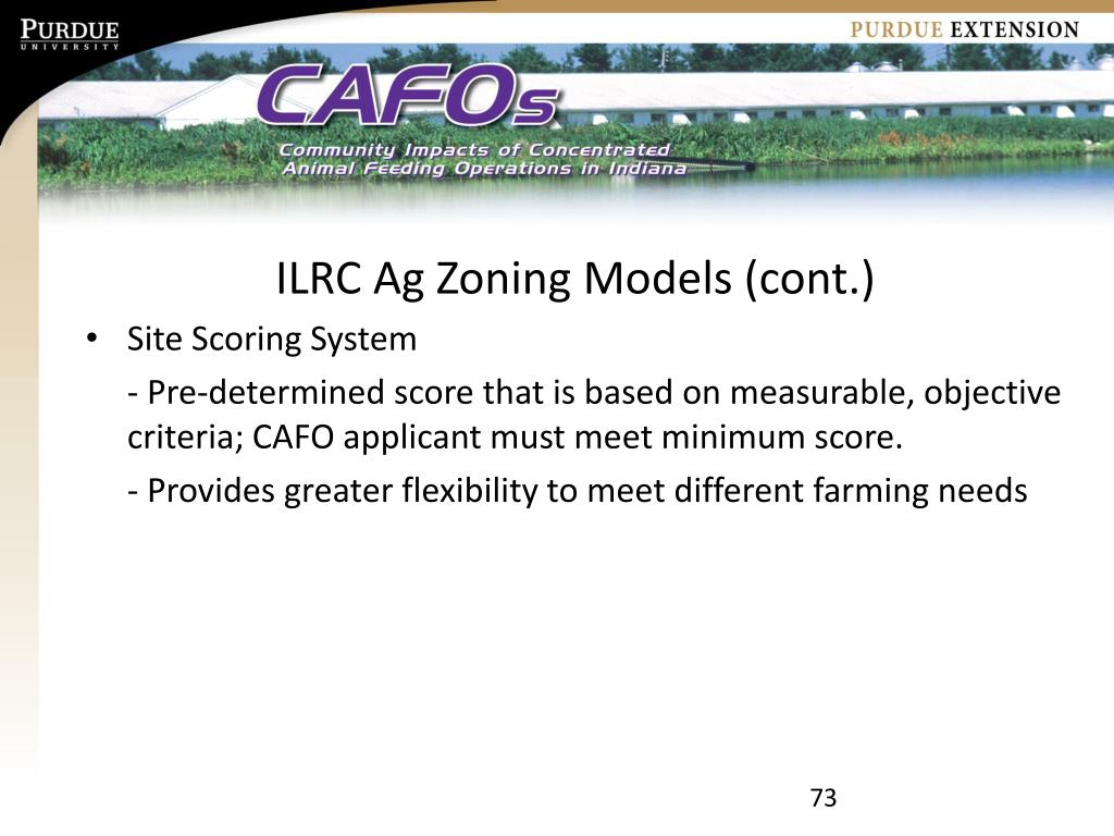 ILRC Ag Zoning Models (cont.)