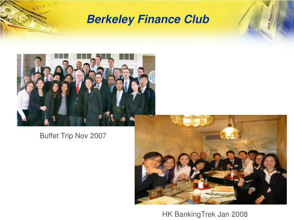 Berkeley Finance Club