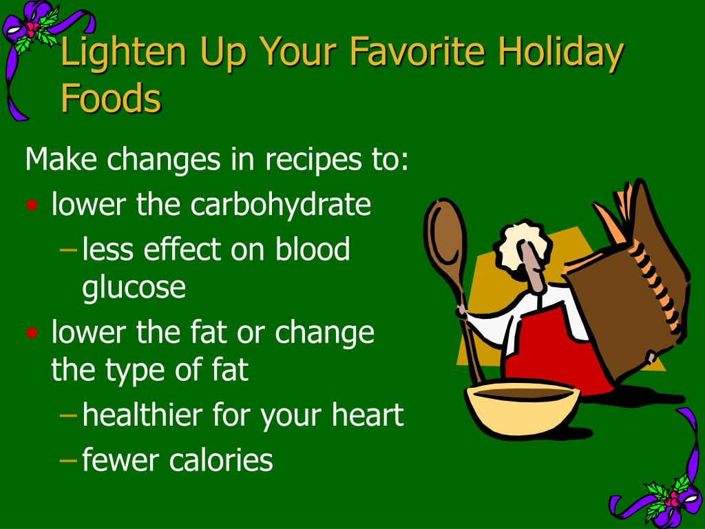 Lighten Up Your Favorite Holiday Foods