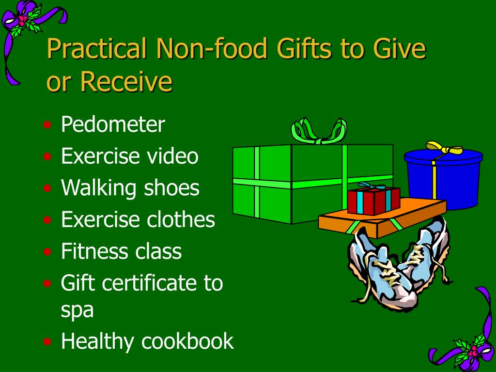 Practical Non-food Gifts to Give or Receive