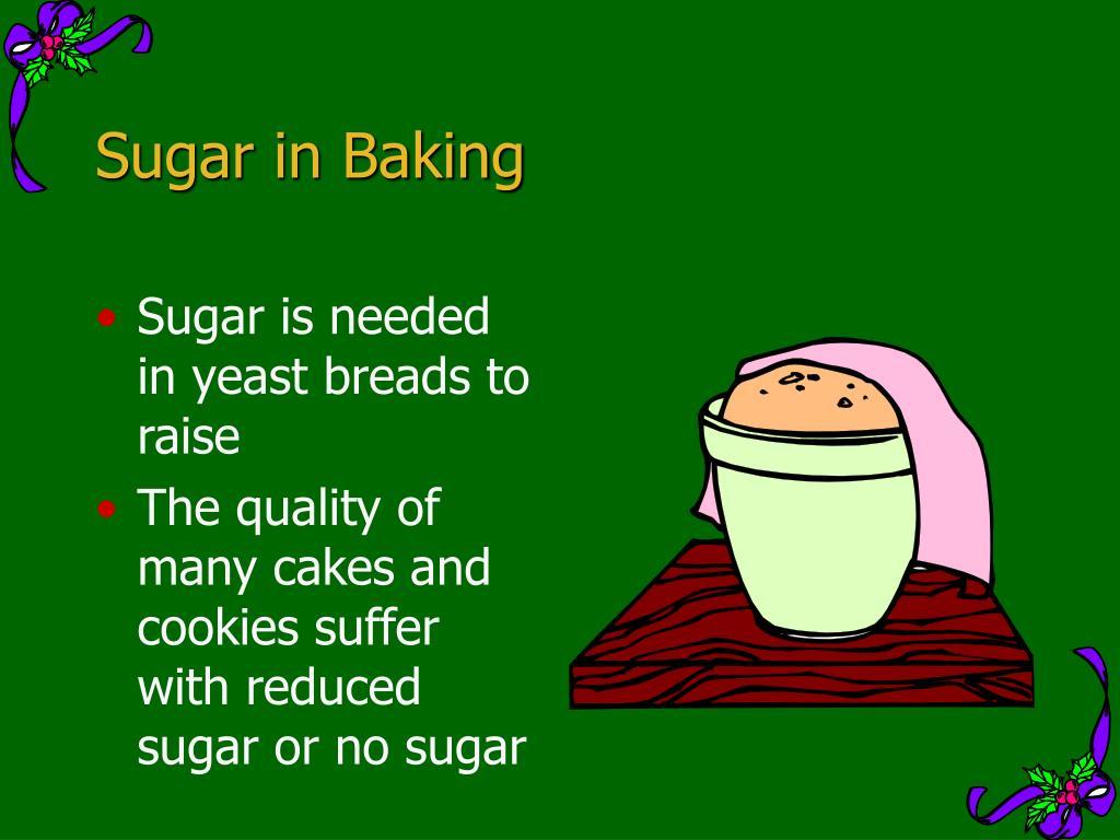 Sugar in Baking