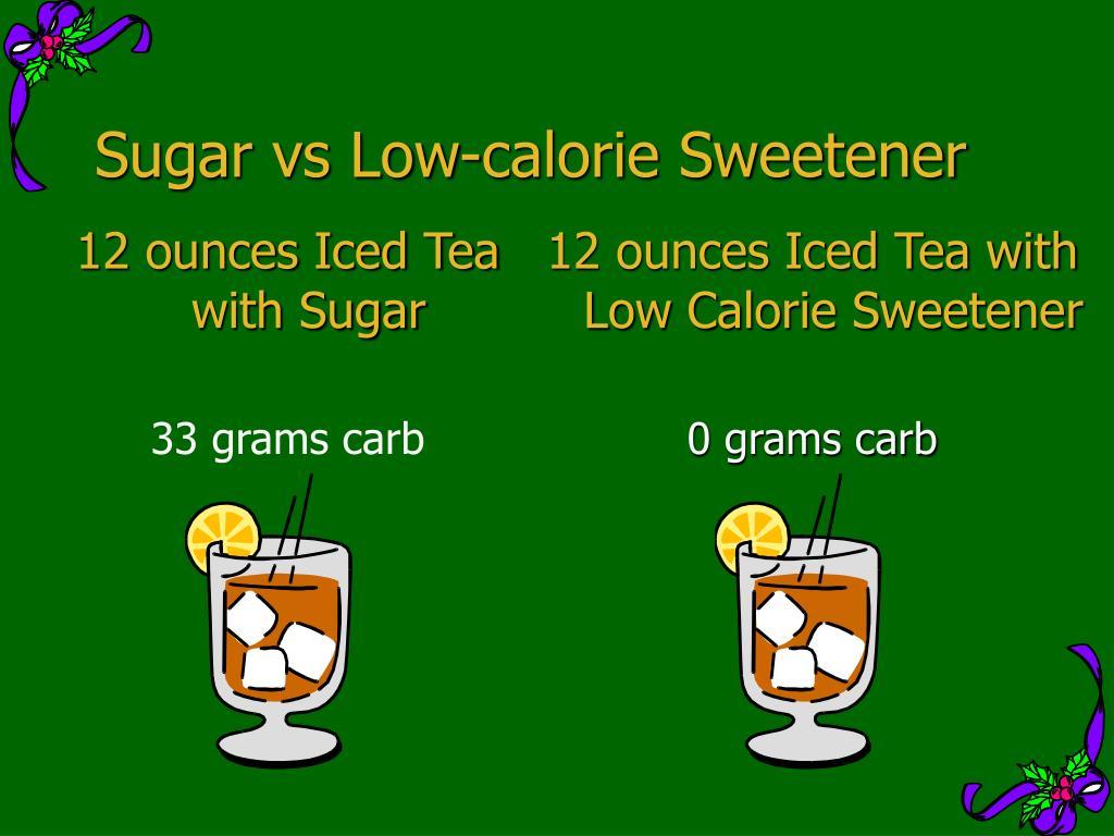 12 ounces Iced Tea with Sugar