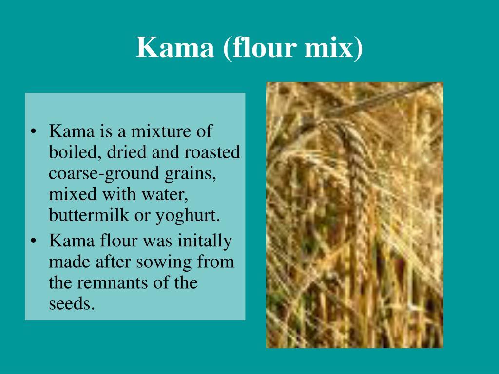 Kama (flour mix)