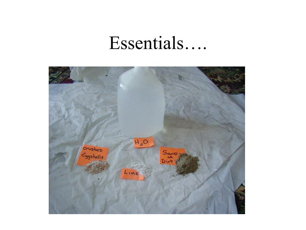 Essentials….