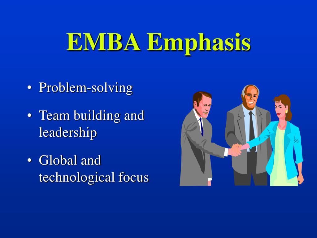 EMBA Emphasis