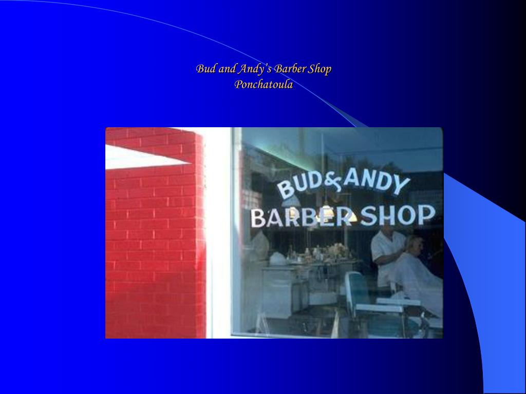 Bud and Andy's Barber Shop