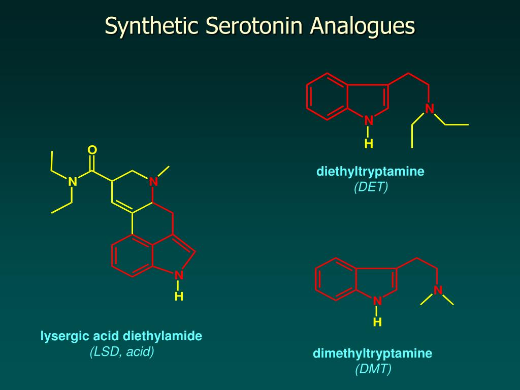 Synthetic Serotonin Analogues