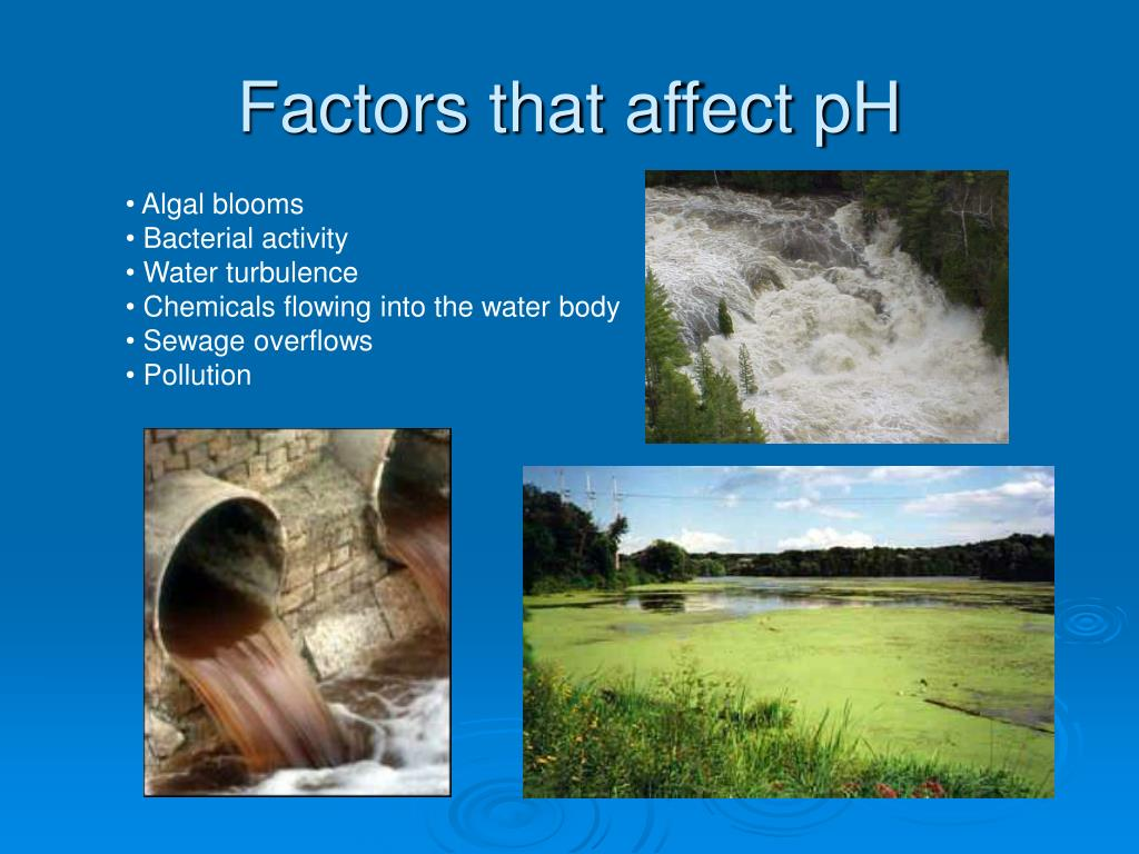 Factors that affect pH