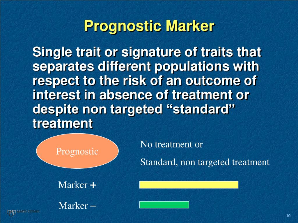 Prognostic Marker