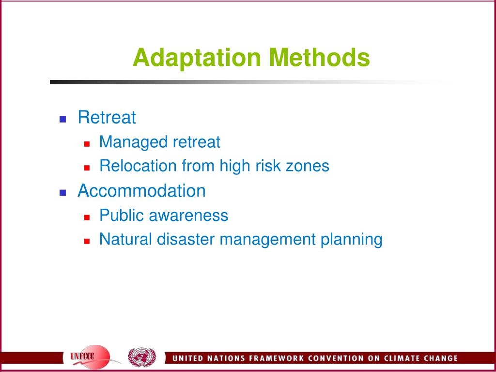 Adaptation Methods