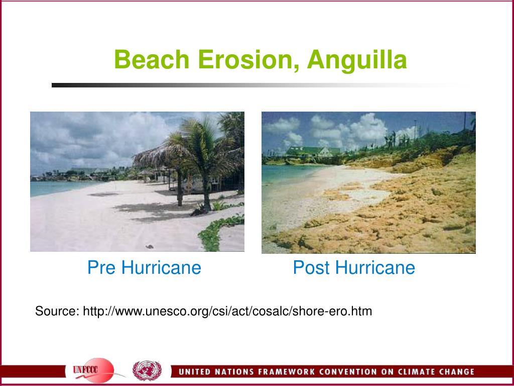 Beach Erosion, Anguilla