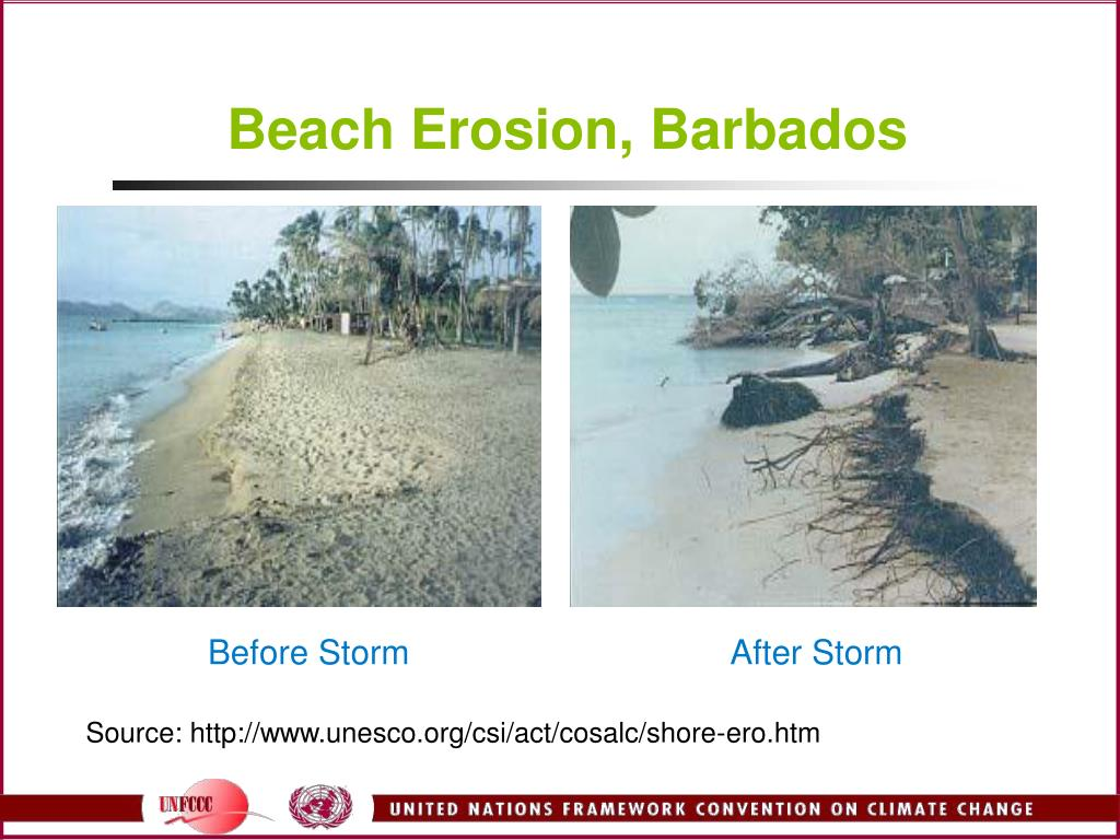Beach Erosion, Barbados