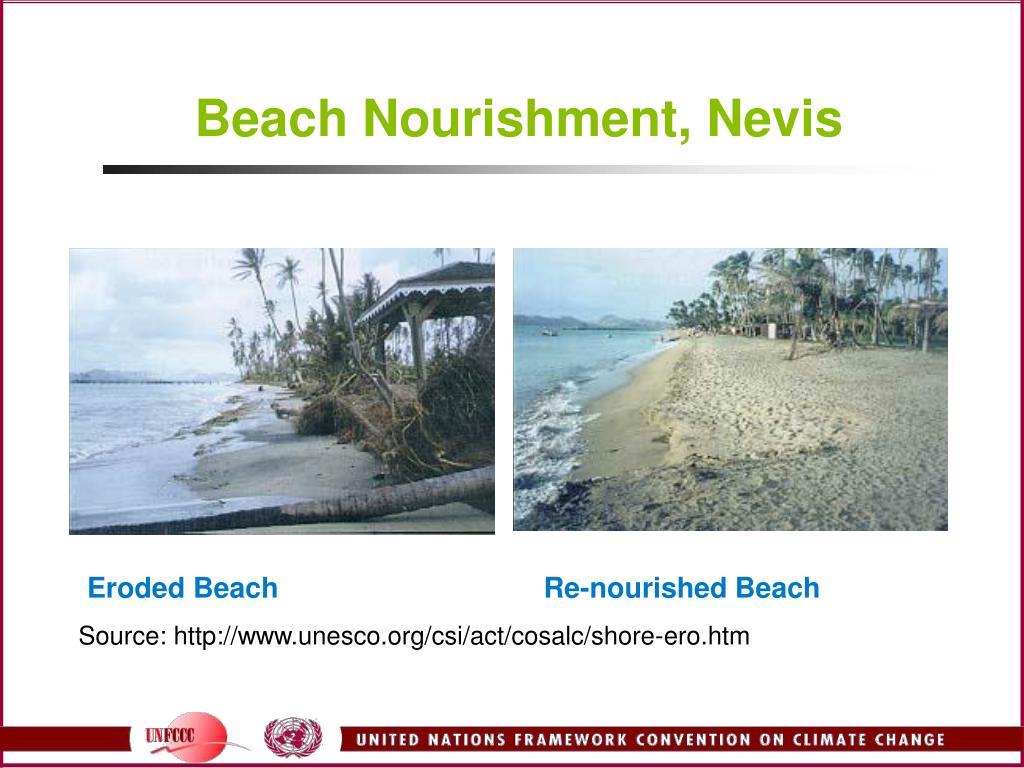 Beach Nourishment, Nevis
