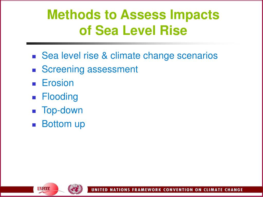 Methods to Assess Impacts