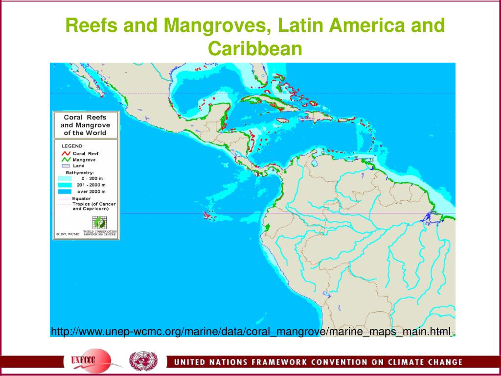 Reefs and Mangroves, Latin America and Caribbean