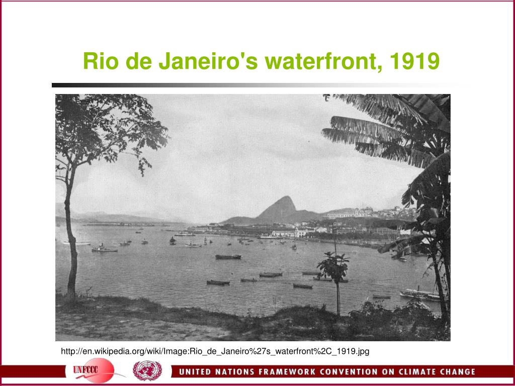 Rio de Janeiro's waterfront, 1919