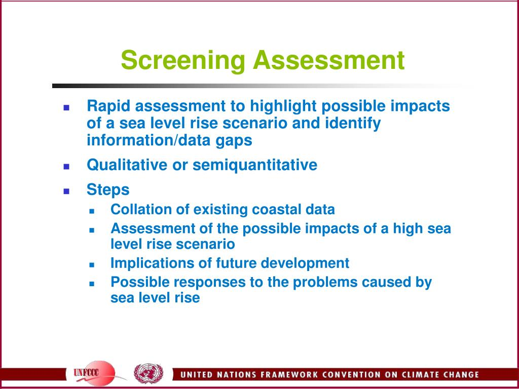 Screening Assessment
