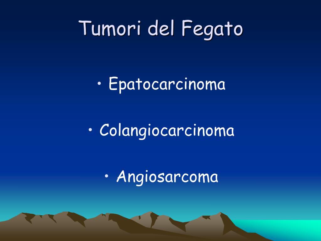 Tumori del Fegato