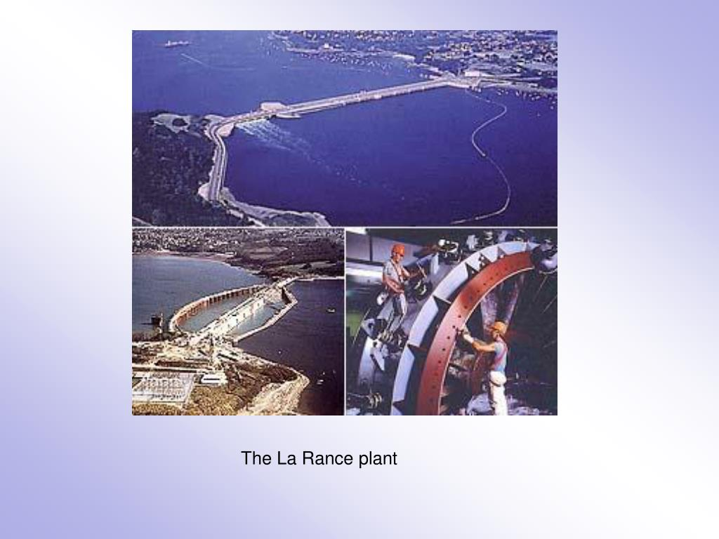 The La Rance plant