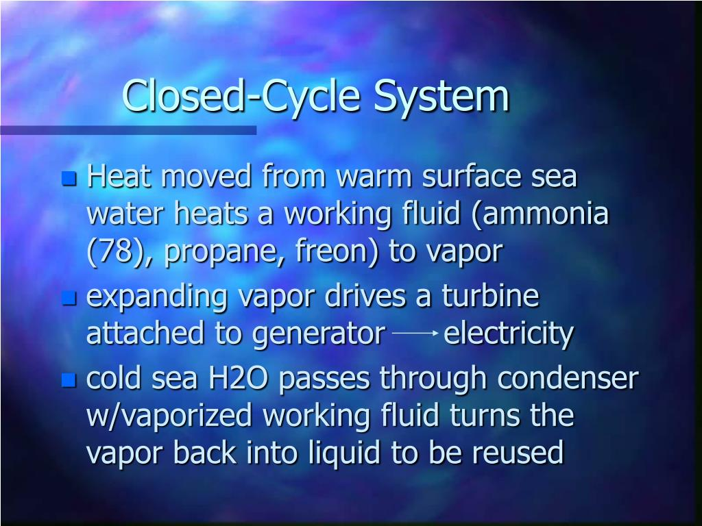 Closed-Cycle System