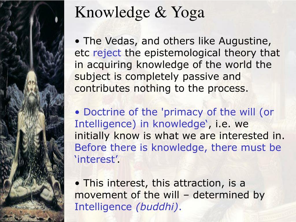 Knowledge & Yoga
