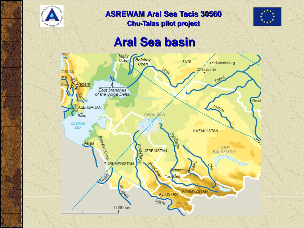 Aral Sea basin