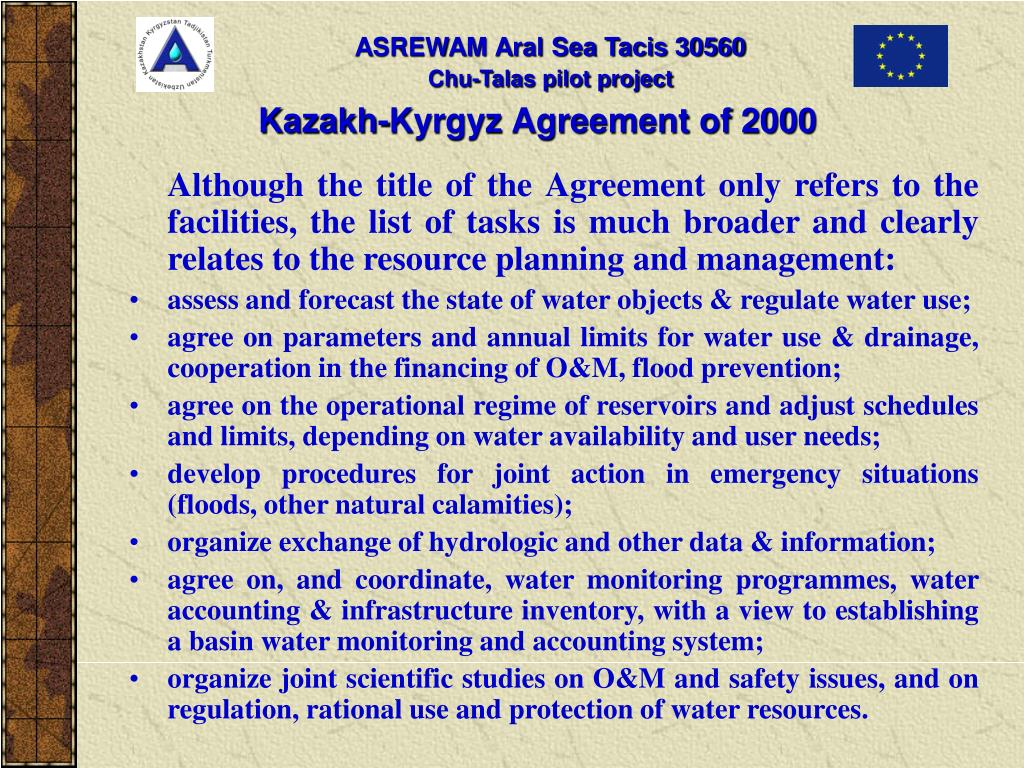 Kazakh-Kyrgyz Agreement of 2000