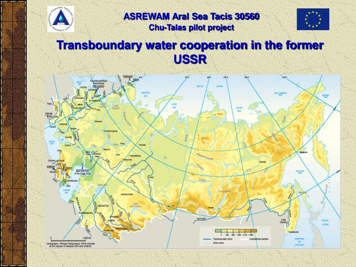 Transboundary water cooperation in the former ussr