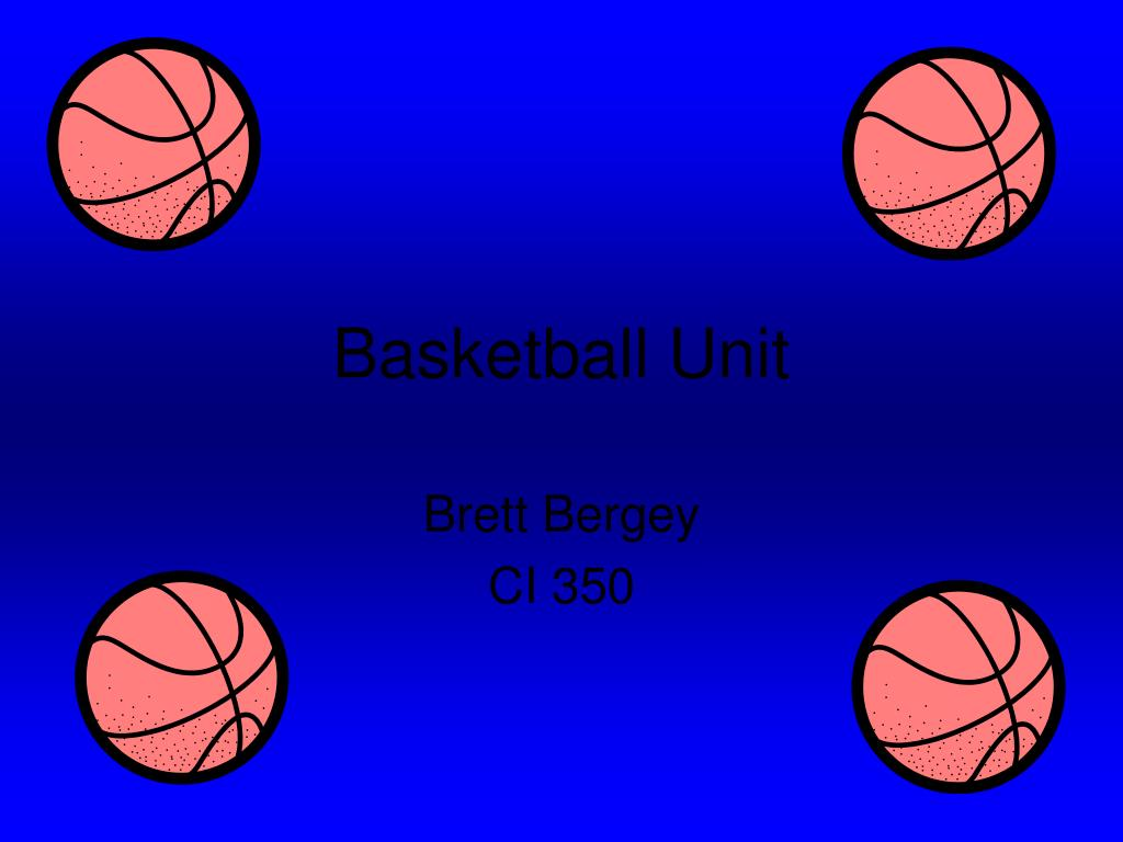 basketball unit