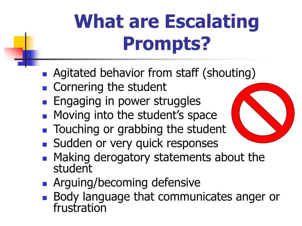What are Escalating Prompts?