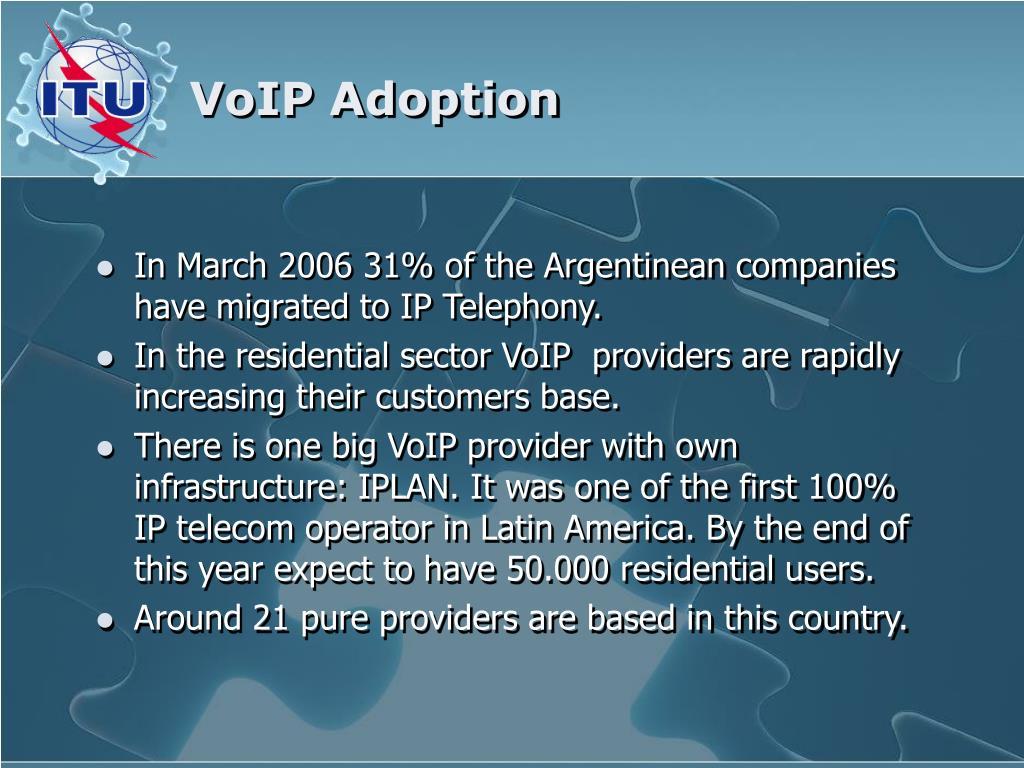 VoIP Adoption