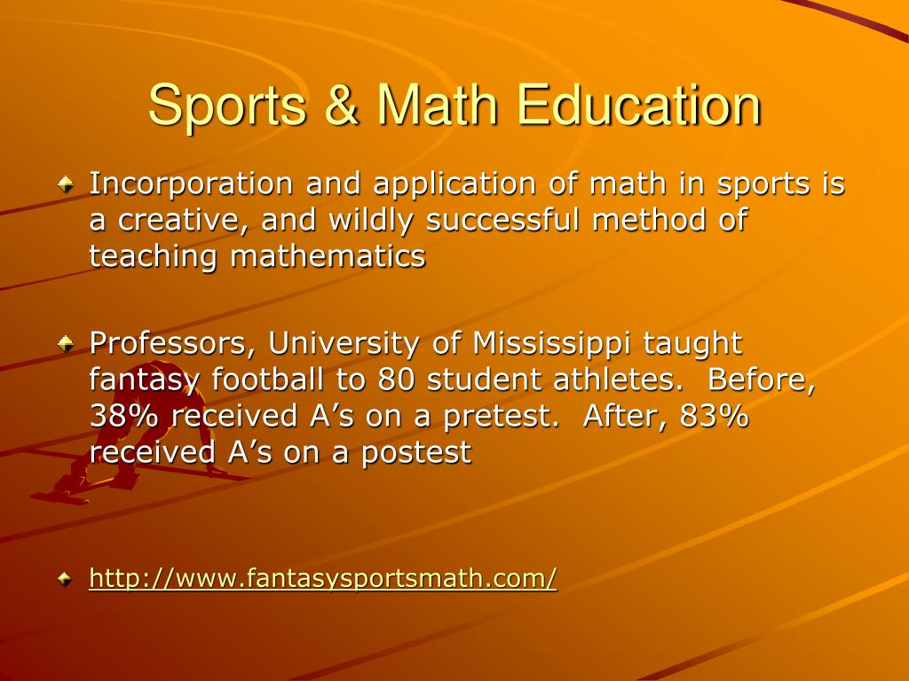 Sports & Math Education