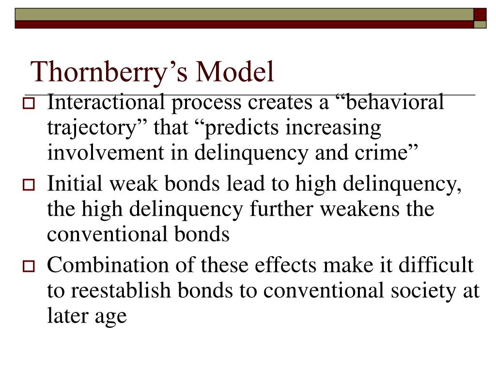 trajectory theory delinquency During adolescence, delinquency is closer to being rate of delinquency of each trajectory group and juvenile delinquency: a test of general strain theory.