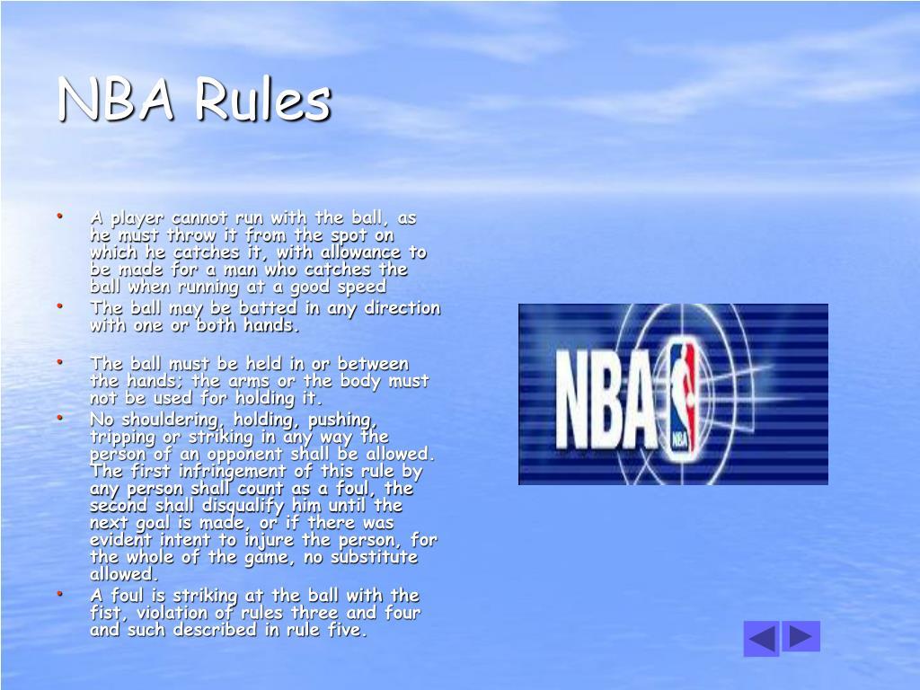 NBA Rules