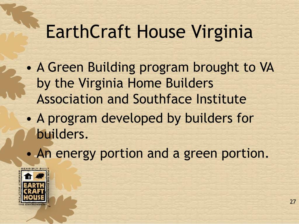 EarthCraft House Virginia