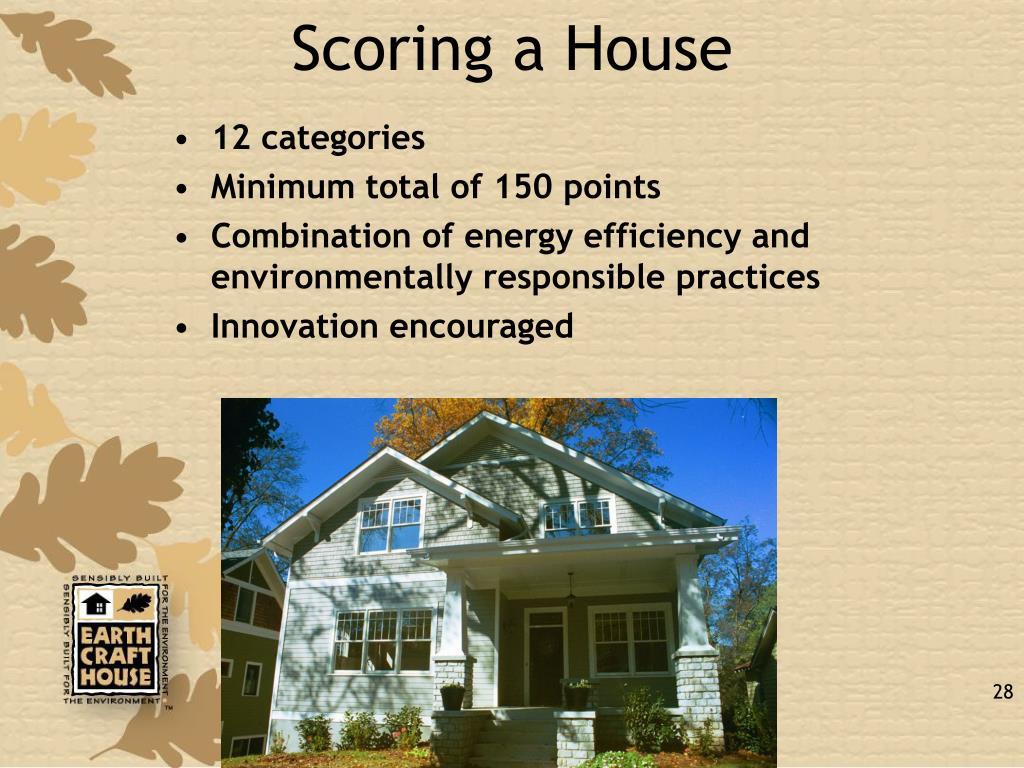 Scoring a House