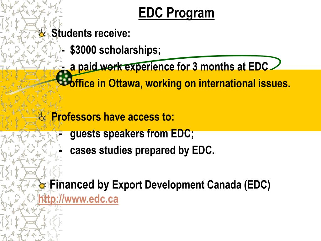 EDC Program