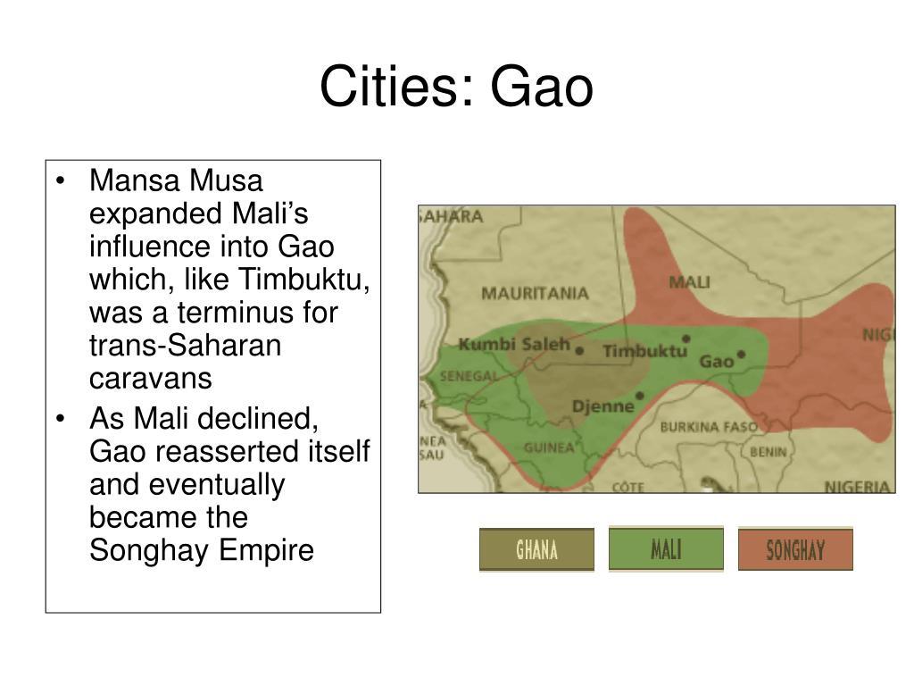 Cities: Gao