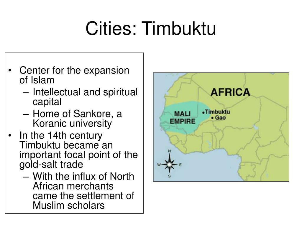 Cities: Timbuktu