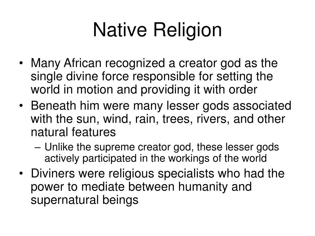 Native Religion