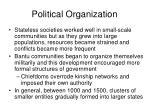 political organization7