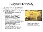 religion christianity