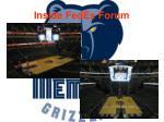 inside fedex forum