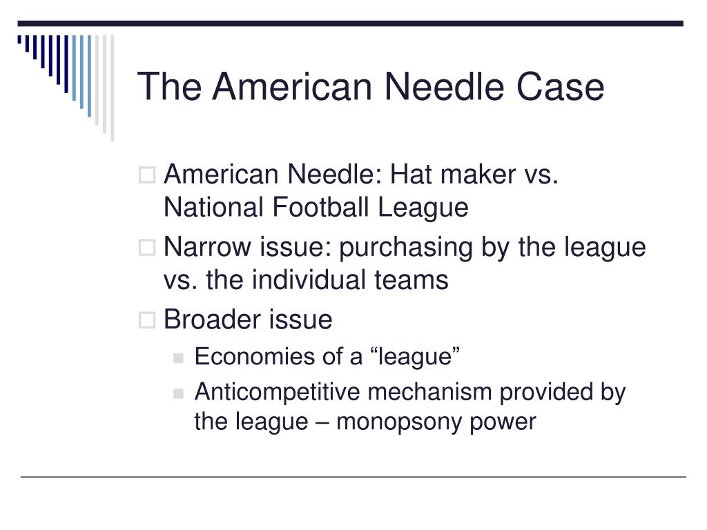 The American Needle Case